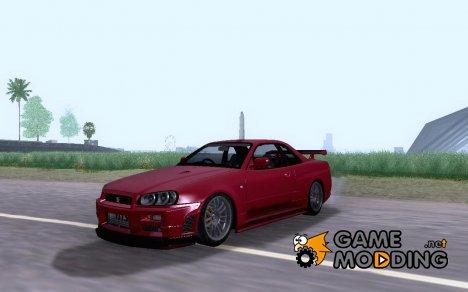 Nissan Skyline GTR R34 for GTA San Andreas