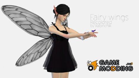 Крылья феи для Sims 4
