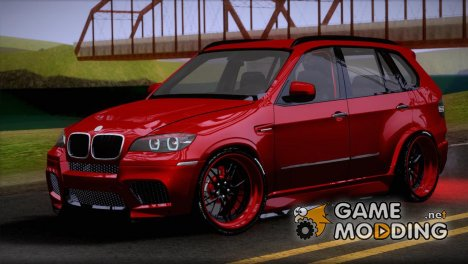 BMW X5M E70 Tuned for GTA San Andreas