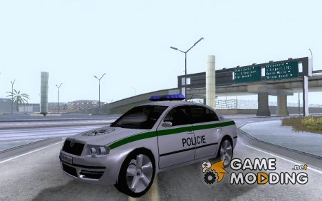 Skoda Superb POLICIE for GTA San Andreas