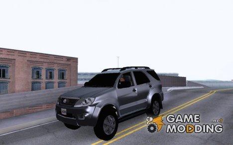 Toyota Fortuner Original 2013 для GTA San Andreas