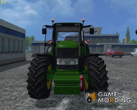 John Deere 6630 Weight FL for Farming Simulator 2015