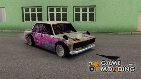 ВАЗ 2106 Itasha for GTA San Andreas