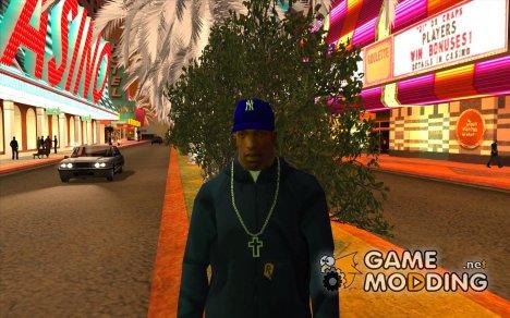 Кепка newyorkyankiys фиолетовая for GTA San Andreas