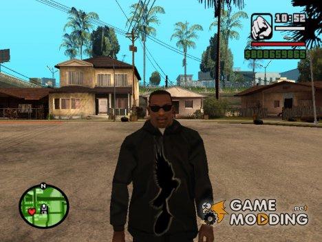 """Толстовка с логотипом """"Hollywood Undead"""" for GTA San Andreas"""