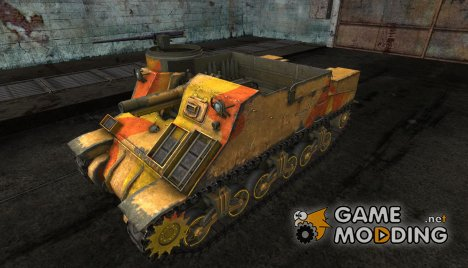 "Шкурка для M7 Priest ""Fall"" for World of Tanks"