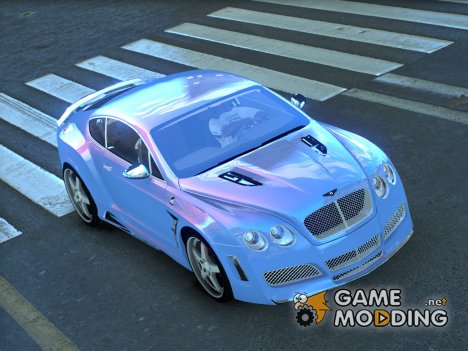 Bentley Continental HyperSports Cross Hamman Limited Edition для GTA 4