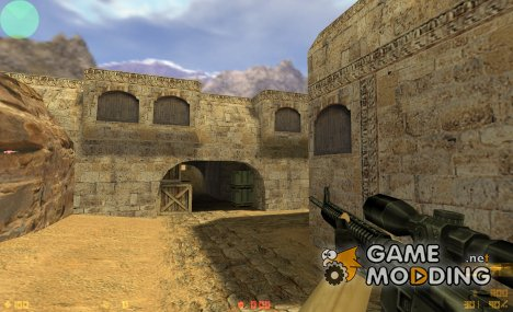 M16a4 sniper for Counter-Strike 1.6