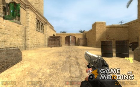 GO Beretta W/ LAM для Counter-Strike Source