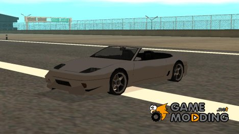 Super GT кабриолет в стиле SA для GTA San Andreas