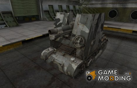 Шкурка для немецкого танка Sturmpanzer I Bison for World of Tanks