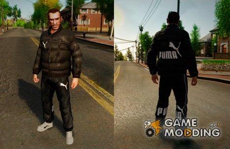 Puma Clothes для GTA 4