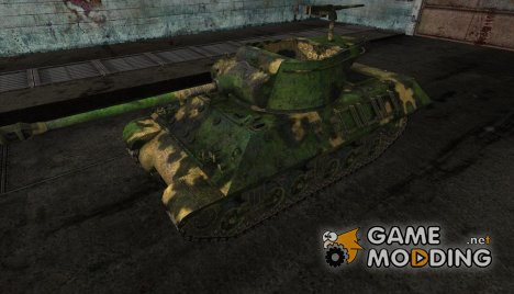 Шкурка для M36 Slugger №14 для World of Tanks