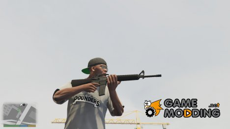 M16 A2 (Animation Update) v1.2 for GTA 5