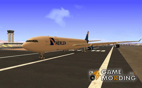 Airbus A340-300 GTA V  Air Herler for GTA San Andreas