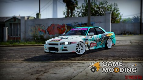 Nissan Skyline ER34 GT-Shop для GTA 5