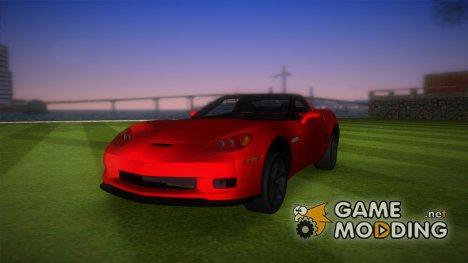 Chevrolet Corvette Grand Sport 2010 TT Black Revel для GTA Vice City