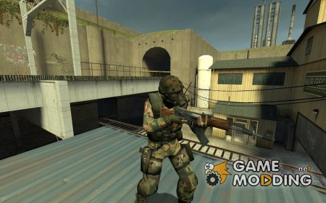 Cortex Camo SAS для Counter-Strike Source