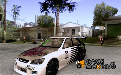 Lexus IS300 Drift Style для GTA San Andreas