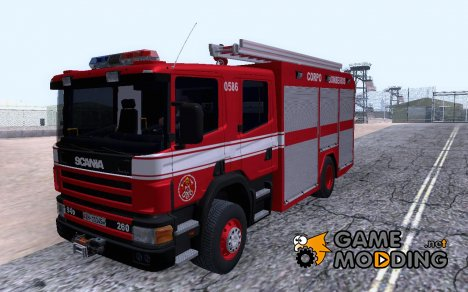 Scania 94D-260 Corpo Bombeiros SP for GTA San Andreas