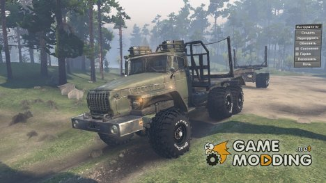 Урал 4320-10 for Spintires 2014