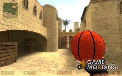 basketball grenade for Counter-Strike Source