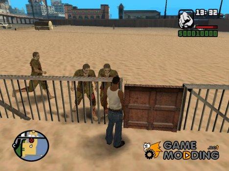 Заражение для GTA San Andreas