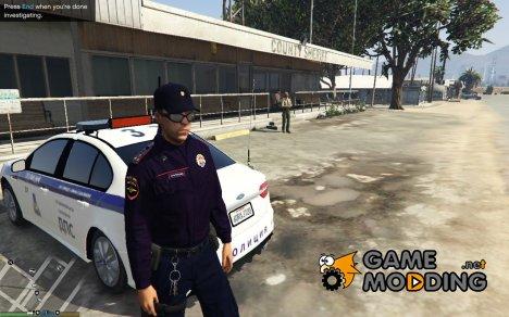 Russian City Police - Лейтенант старшой ППС для GTA 5