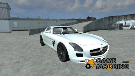 Mercedes-Benz SLS AMG v 1.0 for Farming Simulator 2013