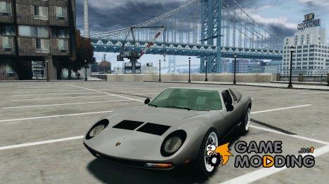 Lamborghini Miura P400 1966 для GTA 4