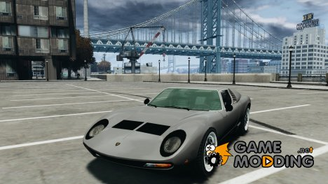 Lamborghini Miura P400 1966 for GTA 4