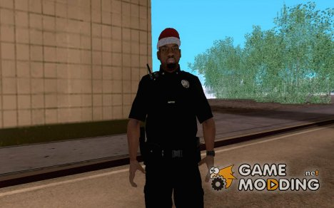 Happy New Year Police for GTA San Andreas