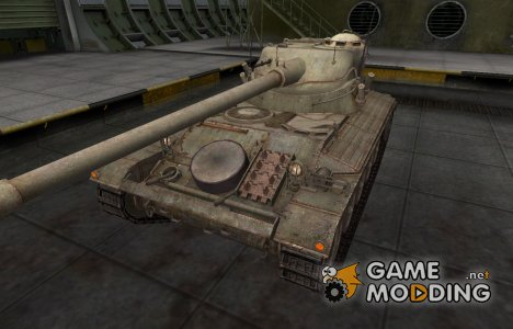Пустынный французкий скин для AMX 13 90 для World of Tanks
