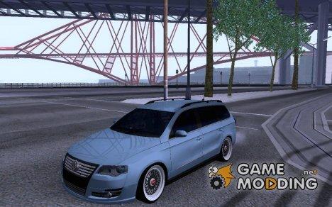 Volkswagen Passat B6 Variant Stance 2007 для GTA San Andreas