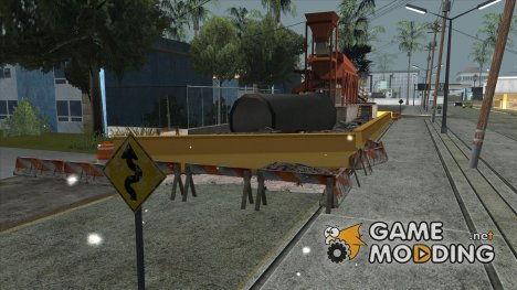 Ремонт дороги 3.0 для GTA San Andreas