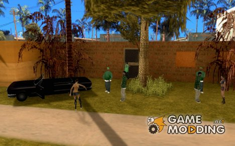 Братки на районе v.2 для GTA San Andreas