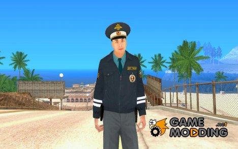 Майор ДПС for GTA San Andreas