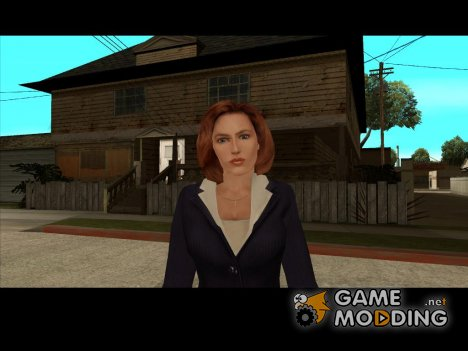 Dana Scully (The X-Files) для GTA San Andreas