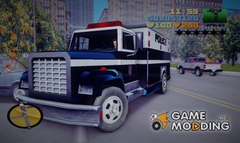 GTA SA Enforcer for GTA 3