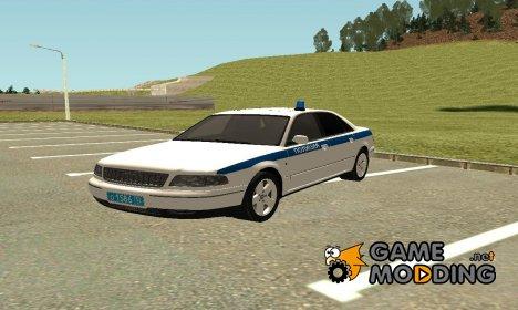 Audi A8 Служебная машина Полиции МВД для GTA San Andreas