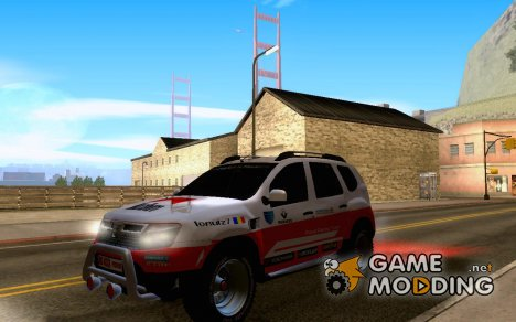 Daewoo Dacia Duster Rally для GTA San Andreas