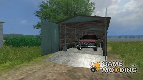 Гараж v2.1 for Farming Simulator 2013