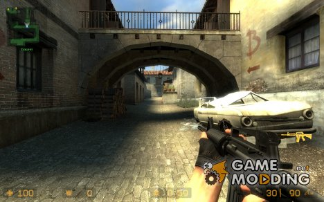 Ank-Cj's M4A1 Dark (W/ New Silencer) for Counter-Strike Source