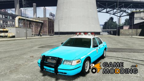 Ford Crown Victoria Classic Blue NYPD Scheme for GTA 4