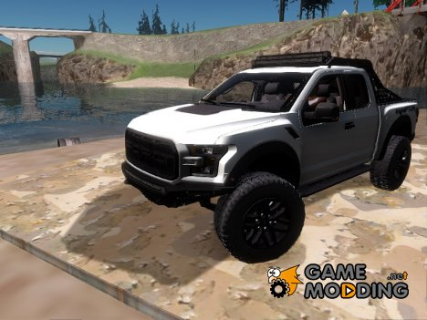 Ford F-150 Raptor Project Scorpio 2017 для GTA San Andreas