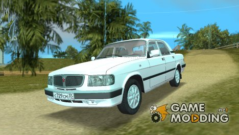 ГАЗ 3110 Reistaling for GTA Vice City