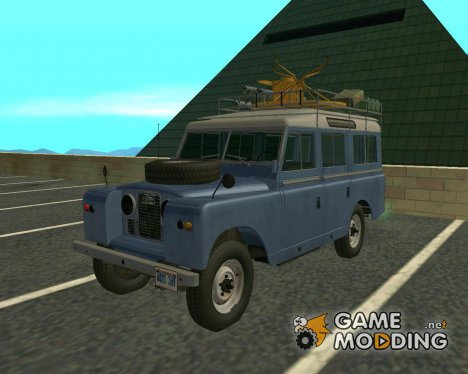 Land Rover Series IIa LWB Wagon 1962-1971 for GTA San Andreas