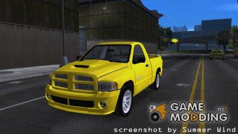 2003 Dodge Ram SRT-10 для GTA 3