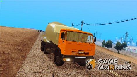 """Камаз 54115 """"Миксер"""" для GTA San Andreas"""