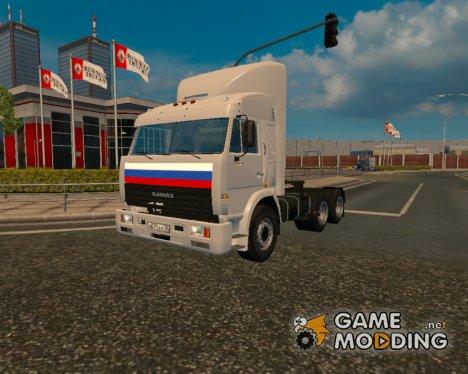 КамАЗ 54115 из Дальнобойщиков для Euro Truck Simulator 2